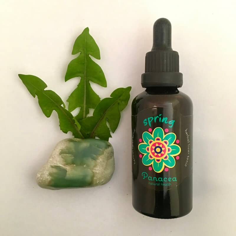 Herbal medicine natural remedy Spring herb drops
